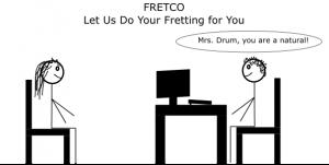 fretting comic